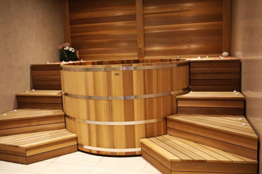Spa bois intérieur