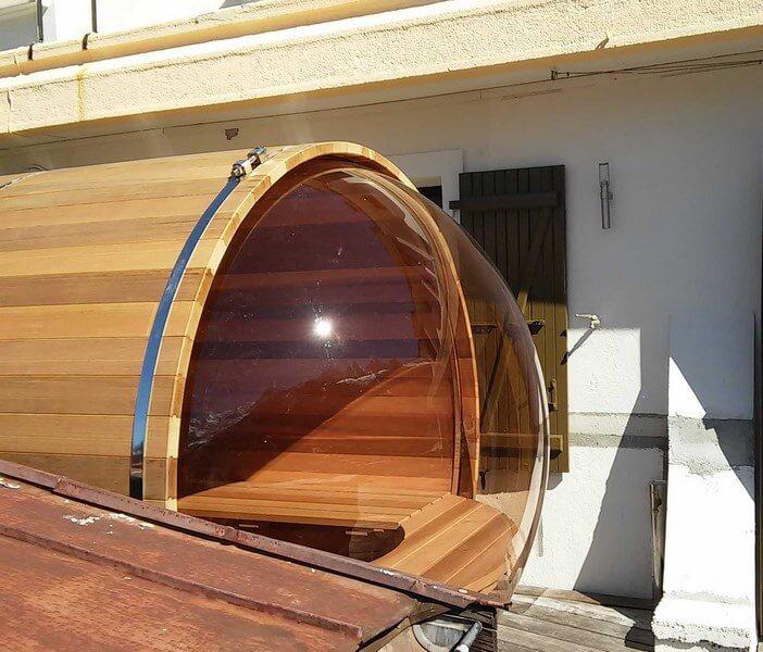sauna en bois haut de gamme et fabriqu en france o 39 biozz. Black Bedroom Furniture Sets. Home Design Ideas